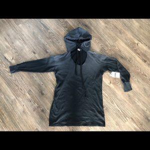 LNA Women's size small black ombré hoodie NWT